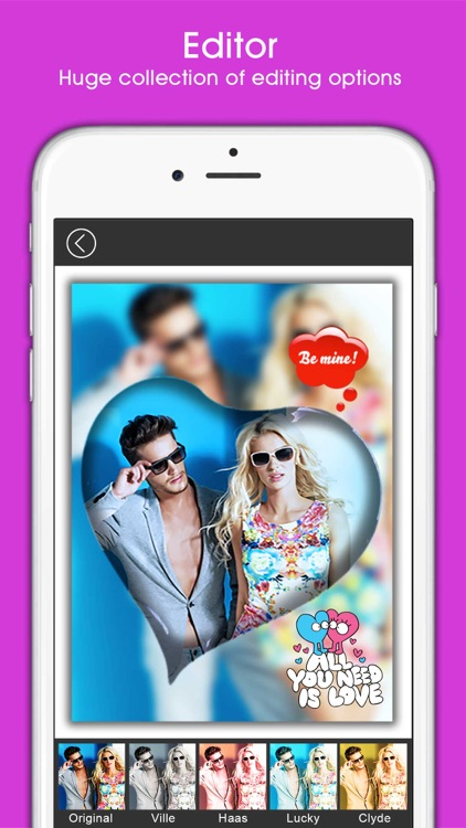 PIP Magic - selfie camera editor with frame collage maker screenshot-4