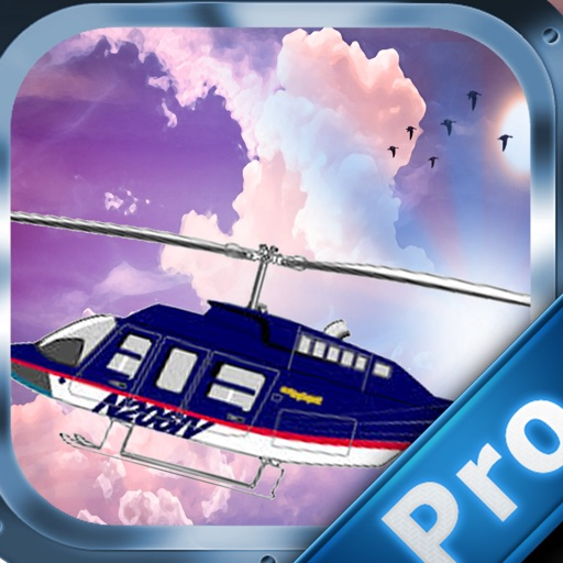 A Helicopter In Super Land Pro- Magic Flyging In The Sky