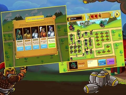 Ipad Screen Shot Three Kingdoms War: -  Heroes  Clash TD  Game 1