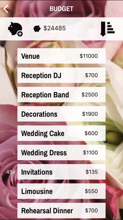 Wedding Planner Simple Edition