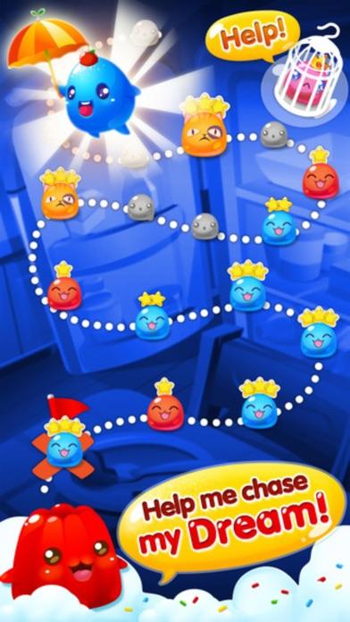 Jelly Blast - 3 match puzzle sweets crush game screenshot three
