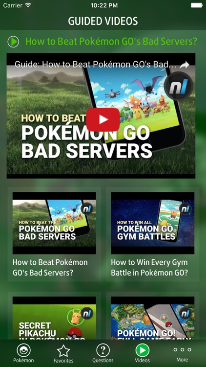 Guide for Pokémon GO Game