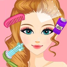 Beauty Princess HairStyles & Spa Salon - Girl Hair Makeover and Makeup Game