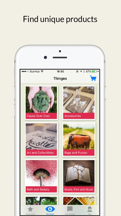 Thinges: Shop Artisanal, Handmade & Personalised Goods
