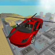 San Andreas Helicopter Car Flying 3D Free