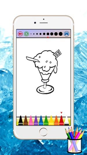 çocuklar Için Dondurma Boyama Kitabı App Storeda
