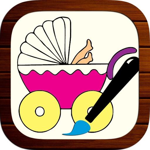 Kids Recolor Book - Educational & Creative Coloring App For Kids & Children