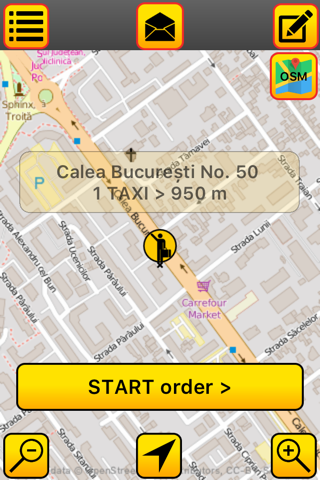 LUX TAXI Client screenshot 3