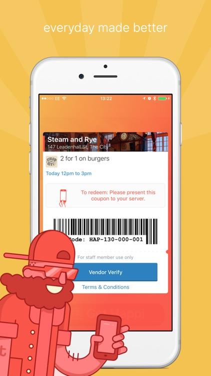 Happiour - Food & Drink Deals screenshot-4