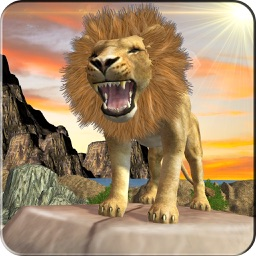 Lion Simulator Animal Survival -  Play as a wild Lion in the Jungle