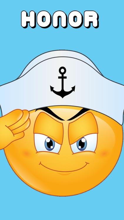 Navy Emojis Keyboard Memorial Day Edition by Emoji World