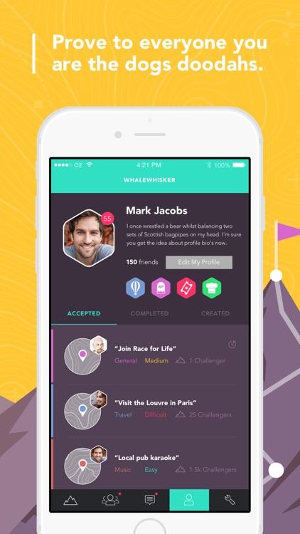 ManUp - Challenge your friends screenshot-3