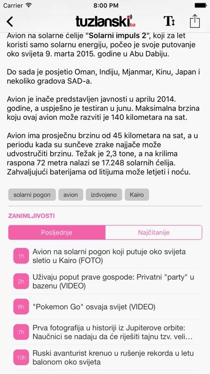 Tuzlanski.ba screenshot-4