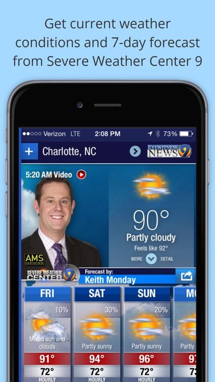 WSOC-TV Channel 9 Weather App screenshot-0