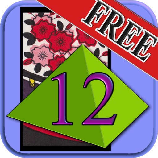 Pyramid12 of Japanese playing cards icon