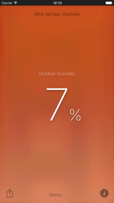 Humidity Appのおすすめ画像1