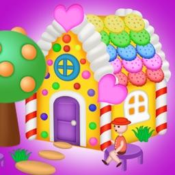 DIY - Crazy Clay Design - burger and houses