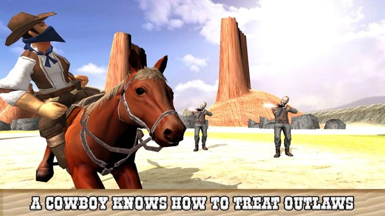 Extreme Cowboy Horse Riding Simulator - Ultimate Bounty Hunt screenshot-4