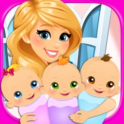 My Newborn Baby Triplets - Kids Pregnancy & Hospital Maternity Games