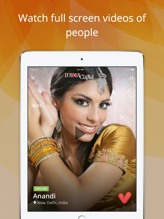 India Social Online Dating App for Indian People screenshot-0