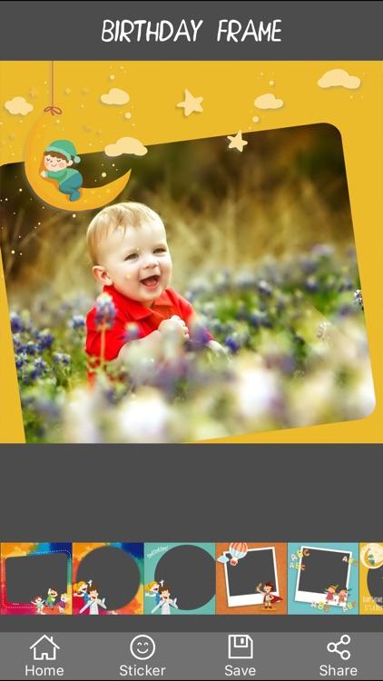 Kid Photo Frame - Camera 720 Khung hình cho bé 360