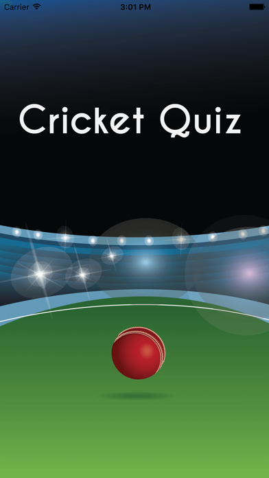 Cricket Game Quiz App - Challenging Cricket games Trivia & Facts screenshot one