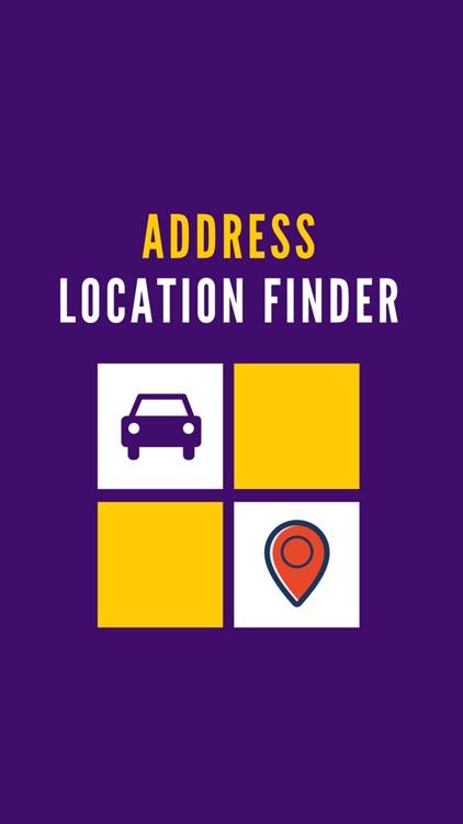 Address Location Finder