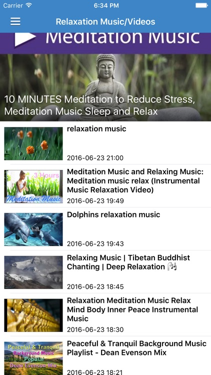 Relaxation Music Pro - Calming & Meditation Music screenshot-4