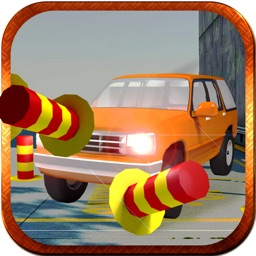3D Car Parking - multi level driving test and  obstacle course 2016