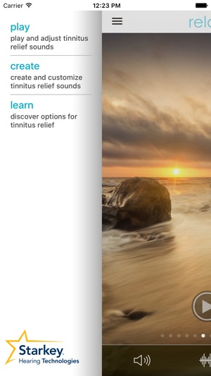 Starkey Relax on the App Store