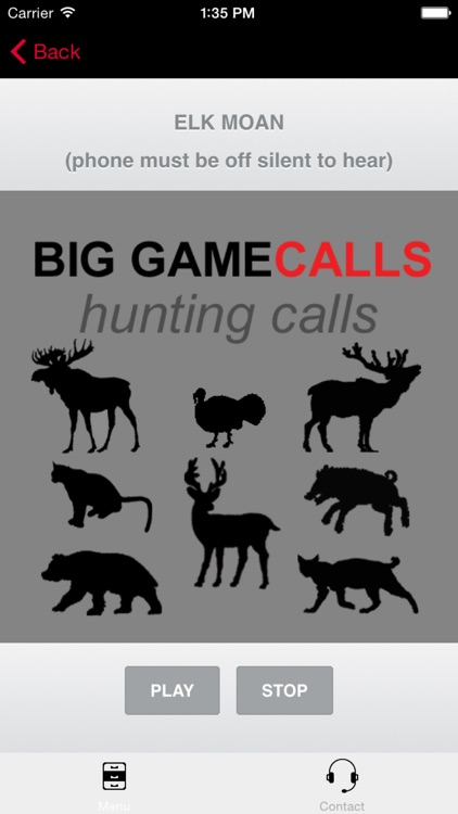 Big Game Hunting Calls - The Ultimate Big Game Hunting Calls App - BLUETOOTH COMPATIBLE screenshot-3