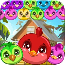 Crazy Bubble Shooter Birds Rescue - Funny Cat Pop Mania And Adventure Games