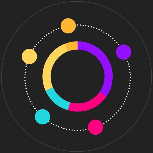奔跑吧圈圈Color-2016风靡全球的挑战手指灵活度休闲的Switch游戏