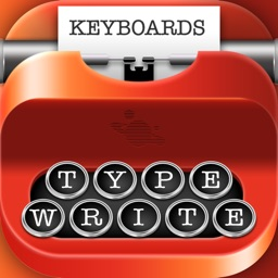 Type-Writer Fonts and Keyboards – Old Fashioned Writing Style with Vintage Theme.s