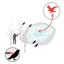 Crow Hunt Planner for Crow Hunting CROWPRO