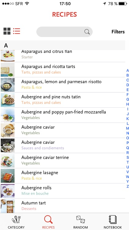 SAVEURS, 1,200 French recipes for gourmets and foodies screenshot-3