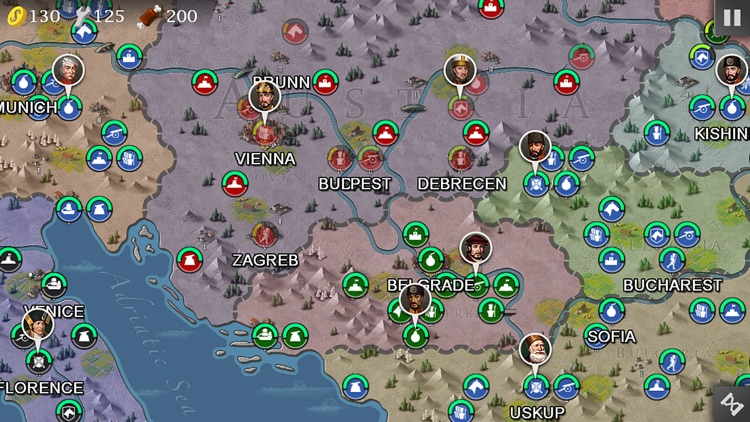 European War 4: Napoleon screenshot-2