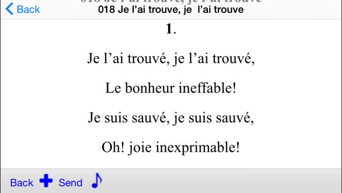 Chants D'Esperance - Tunes Screenshot