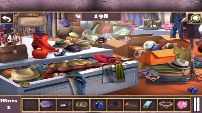 American Fancy Bazar Hidden Objects