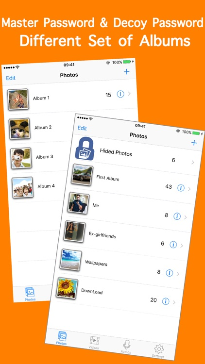 HiCalculator Hide Private Photo.s & Video.s - Password Lock Picture Album Vault & Keep Personal Privacy app image