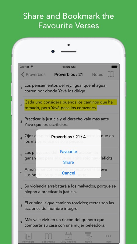 Spanish Bible: Easy to use Bible app in Spanish for daily