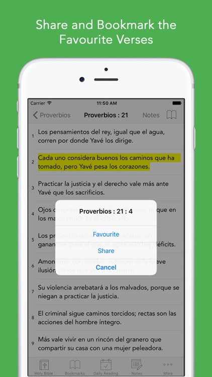 Spanish Bible: Easy to use Bible app in Spanish for daily offline Bible Book reading screenshot-3