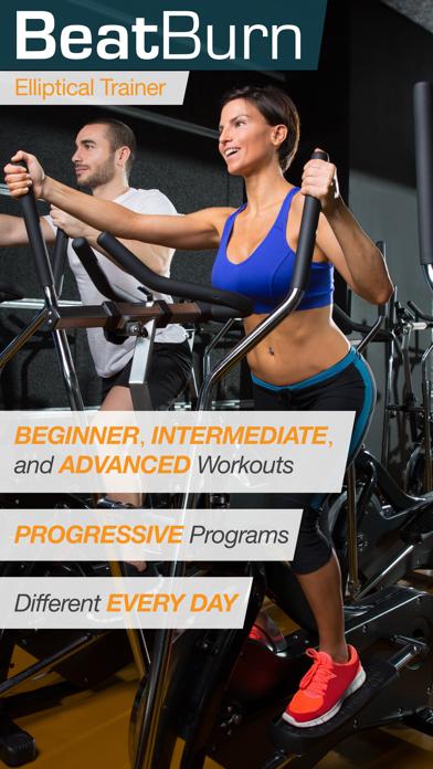 BeatBurn Elliptical Trainer - Low Impact Cross Training for Runners and Weight Lossのおすすめ画像1