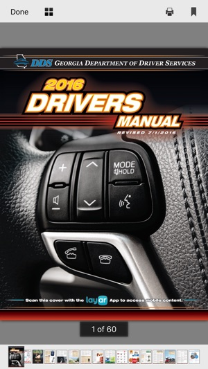 Georgia drivers manual (ga) 2019 | (w/ dds practice test).