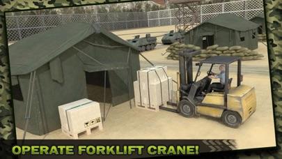 Ejército Carga Avión Vuelo Simulador: Transporte Guerra Tanque en Campo de batallaCaptura de pantalla de2
