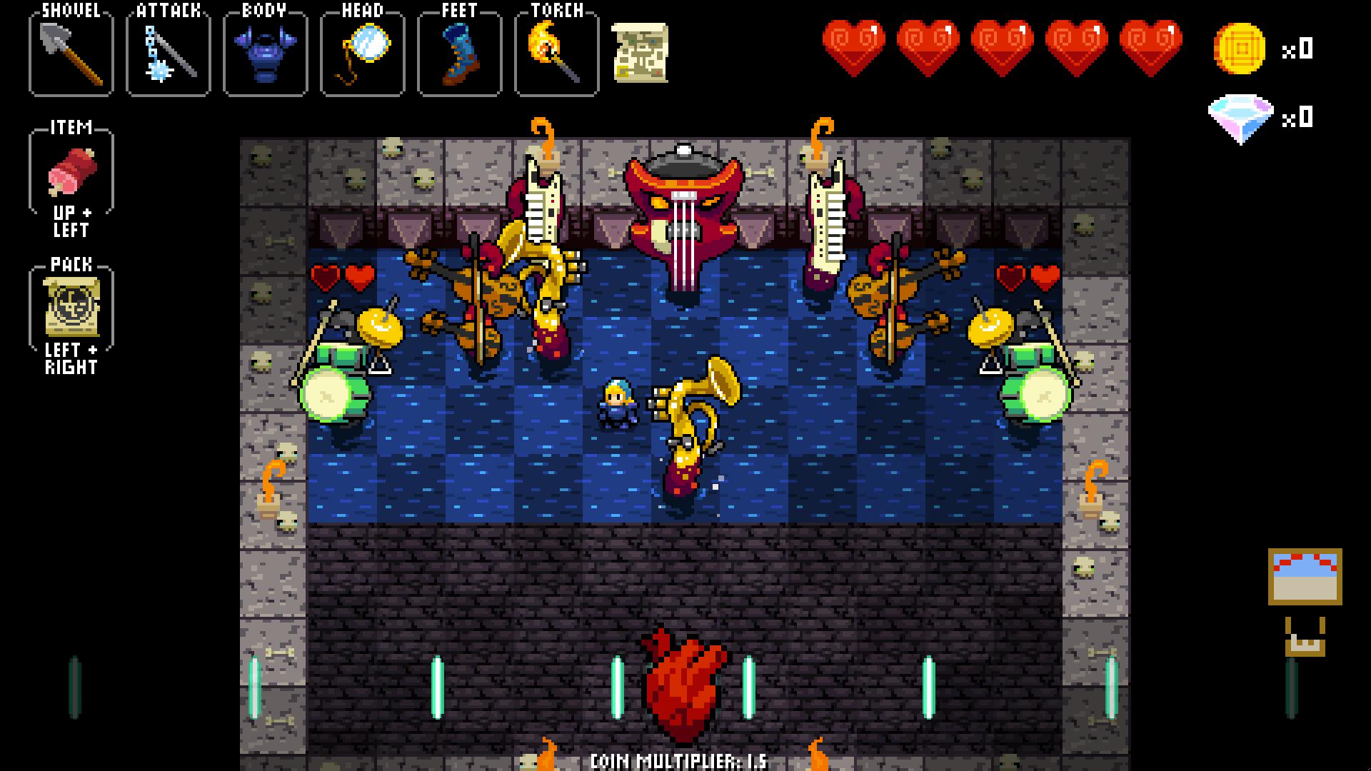 Crypt of the NecroDancer screenshot 13