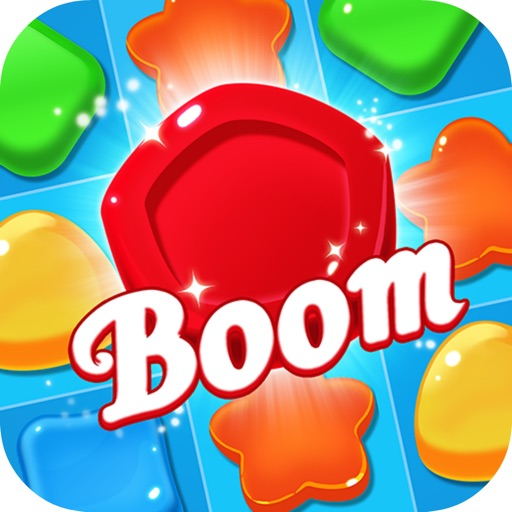 Tap Candy Boom Mania - Candy Miner Swipe Remove iOS App