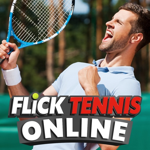 Flick Tennis Online - Play like Nadal, Federer, Djokovic in top multiplayer tournaments!