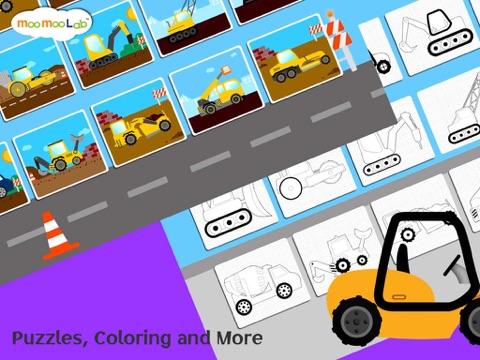 建設車両 -  子供のためのゲーム, アクティビティ、お絵かきのおすすめ画像3