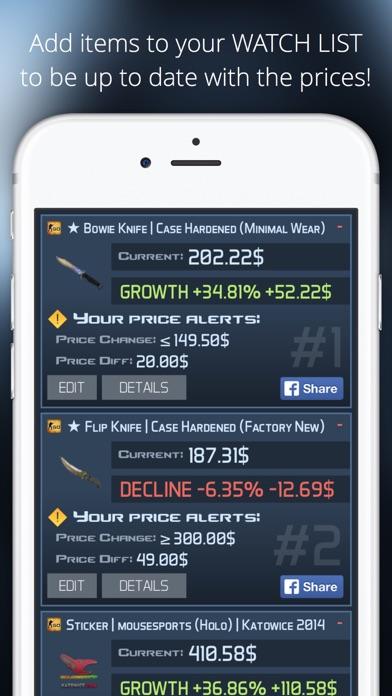 Market Monitor for Counter Strike Global Offensive Screenshot